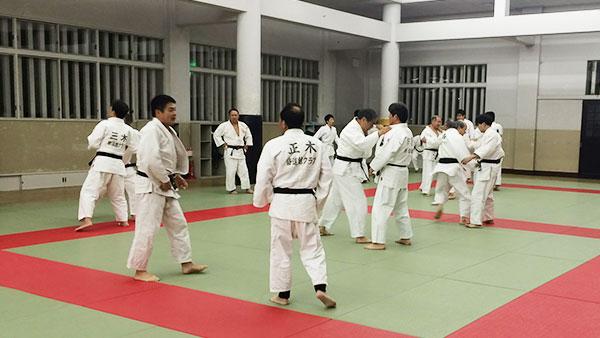 柔道練習風景1