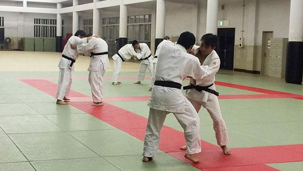 柔道練習風景2