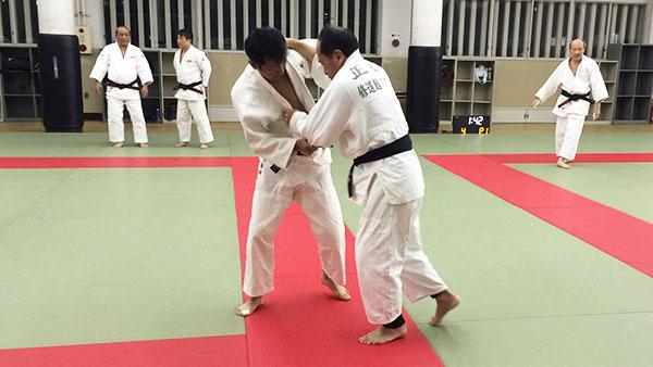 柔道練習風景3