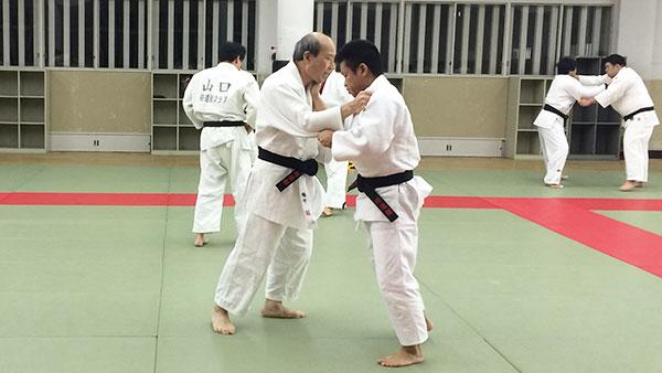 柔道練習風景4