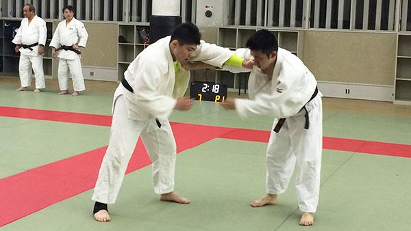 柔道練習風景5